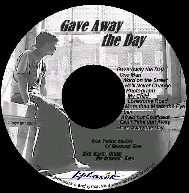 CD - Gave Away the Day
